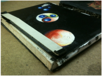 my sketchbook is falling apart, Skecthbook, drawing, painting